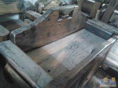 老船木家具 船木太妃椅沙发 上等船木 古色古香
