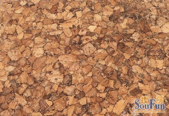 栎栎锁扣式软木地板 黑杜鹃