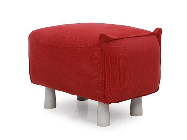 可爱猪猪布艺小凳