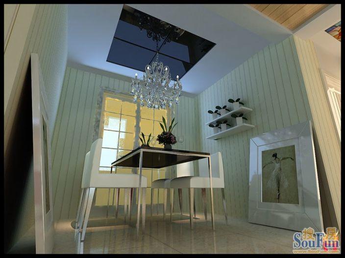 丽都河畔 三居室 139㎡ 装修案例 高清图片