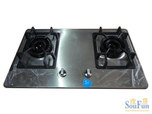 惠尔圣牌不锈钢板燃气灶具,高档钢板双炉 双灶 铜火盖