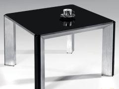 顾家工艺款2012现代时尚家居简约特价铝合金钢化玻璃餐桌