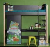 manis-h曼尼希丹麦儿童家具-高床图片