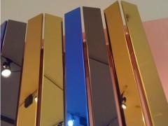 奥思博雅304 镜面板装饰板材 古铜色镜面板 厂家镜面板价格