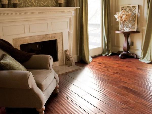 安信印茄木实木复合地板