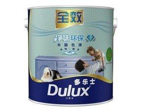 多乐士净味环保全效水性木器白漆2.5kg