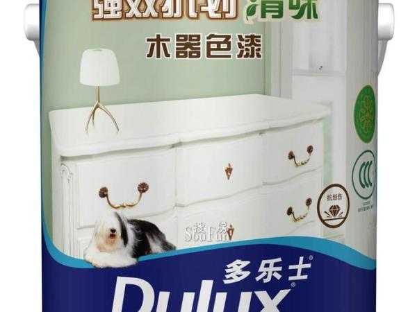 多乐士强效抗划清味木器白面漆5KG木器漆