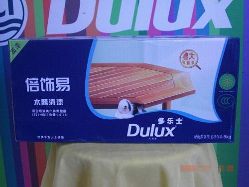 多乐士倍饰易木器清面5kg