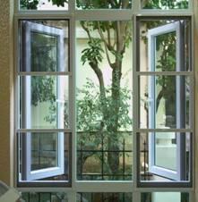 第五代三节式纱窗(标配304不锈钢网)