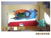 心韵墙体彩绘幼儿园彩绘