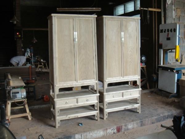 红木古典家具 圆角柜