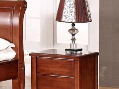 喜得屋 卧室实木床头柜 水曲柳 SY5204