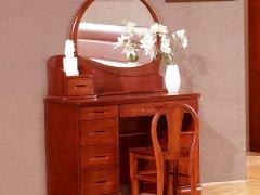 喜得屋 实木梳妆台 中式梳妆桌 进口水曲柳 SY6302
