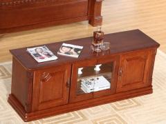 喜得屋 水曲柳卧室地柜 客厅实木电视柜 SY5107