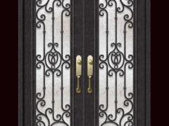威斯特-低碳钢门欧式别墅门豪华门家用门商用门
