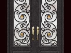 罗马-碳钢门欧式别墅门豪华门家用门商用门