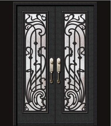佛罗伦萨-低碳钢门欧式别墅门豪华门家用门商用门