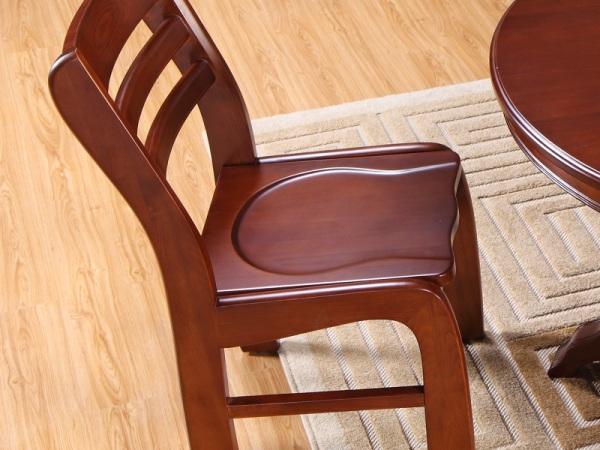 喜得屋 新中式 休闲椅 纯实木椅子 实木餐椅 SY7104