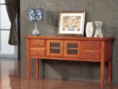 喜得屋 欧式餐边柜 新中式全实木餐柜 SX5501