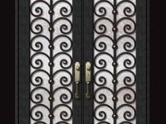 夏威夷-低碳钢门欧式别墅门豪华门家用门商用门
