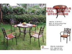 2012年铸铝桌椅 休闲桌椅 户外桌椅 一桌四椅