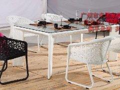 2012年新款户外桌椅 编藤桌椅 休闲桌椅 时尚桌椅