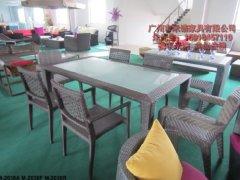 2012年强力推荐 编藤桌椅 休闲桌椅 户外桌椅 仿藤桌椅