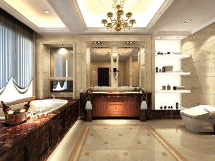罗浮宫 阿曼米黄60BP地面釉面砖 品位高雅