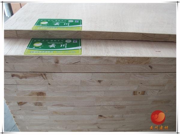 云川建材金利源 18mmE0无醛级杉木细木工板 实木板材大芯