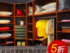 加利安现代简约纯大亚板衣柜