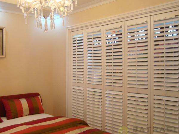 百特斯实木百叶窗卧室3 定制窗 欧式窗