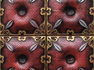 国家专利产品,净化空气的新型装饰材料,家标背景砖。