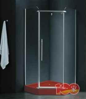 900*900*1950淋浴房 1.2铝材 8mm钢玻