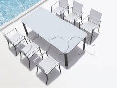 BORAH系列餐桌餐椅