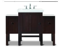 【科勒Kohler旗舰店】Tresham纽英伦浴室柜