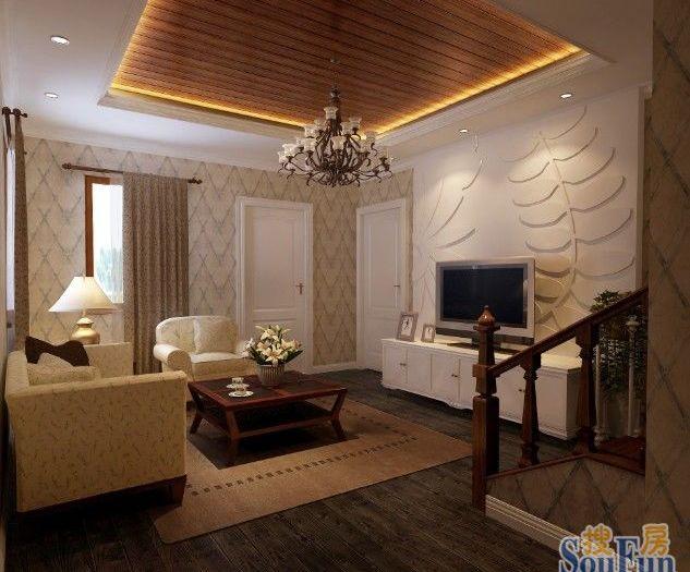 现代简约-200平米四居室-装修样板间