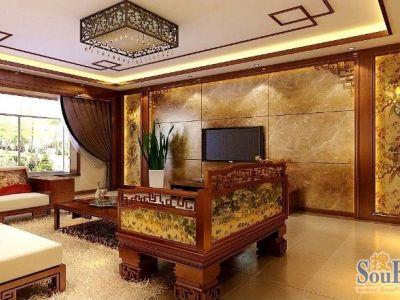 中式古典-180平米四居室装修样板间