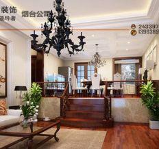 黄海别墅-中式古典-三居室