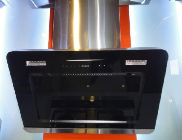 新款侧吸油烟机 苹果款近吸式抽油烟机 三档风力控制