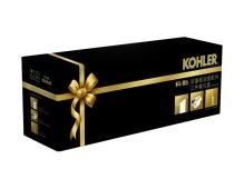 【科勒Kohler旗舰店】欣嘉丽浴室配件三件套礼盒