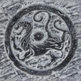 活性炭【仿古代图腾背景砖】图片