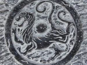 活性炭【仿古代图腾背景砖】