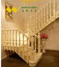 欧式实木楼梯