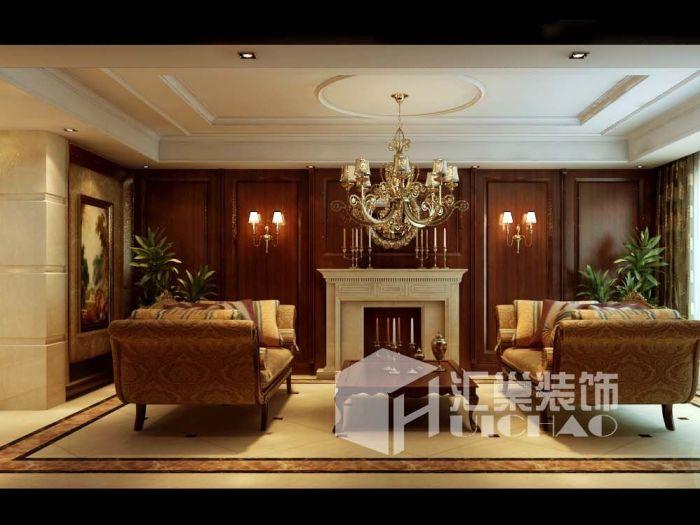 欧美风情-168平米四居室-装修样板间