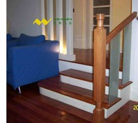 浙江实木楼梯
