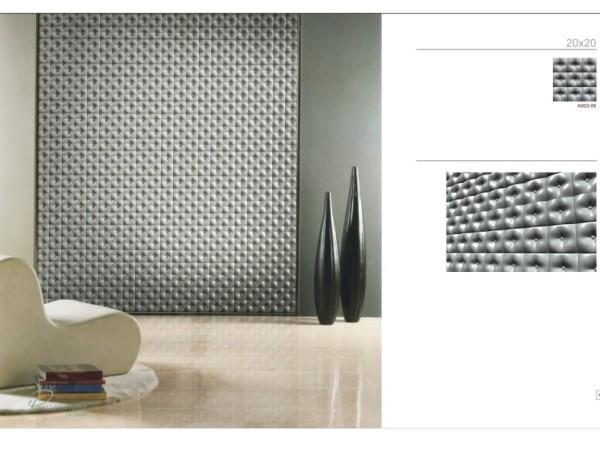 禾石-3D艺术背景墙-花心板