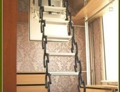 东方阁楼梯 纯进口款电动伸缩楼梯