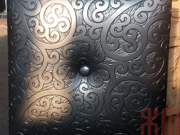 禾石-3D艺术背景墙砖-仿软包-纤花板