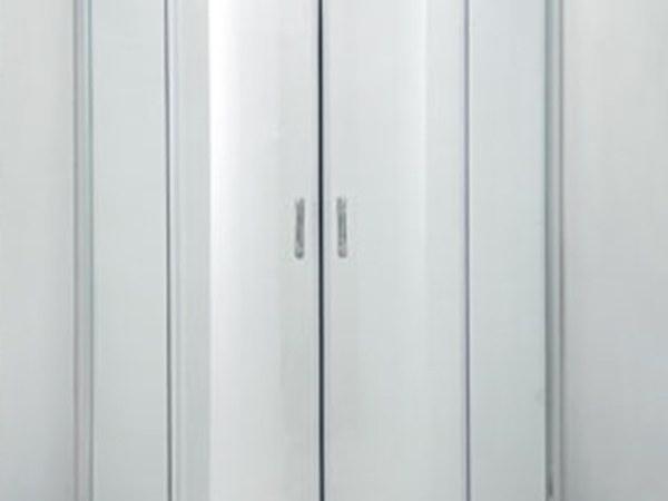 朗斯穆勒B42简易淋浴房扇形推拉门淋浴屏900*900