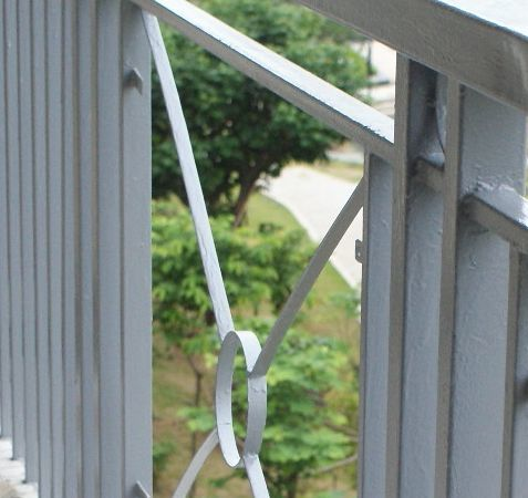阳台栏杆刷漆服务(刷漆无味,不动用电动工具,不产生粉尘)